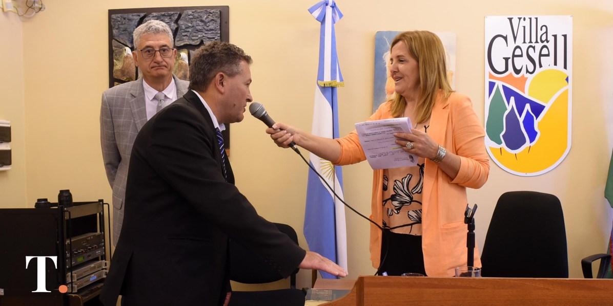 Gustavo Diez, concejal de Juntos por el Cambio (Fotos Ricardo Stinco).