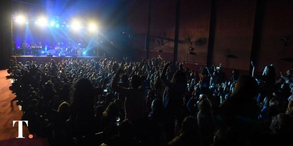 Sala llena en Villa Gesell para ver a la agrupación uruguaya.