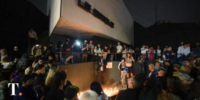 La primera marcha para pedir justicia por fernando tuvo una gran convocatoria (Fotos Ricardo Stinco).