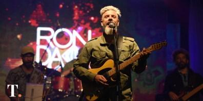 Domingo Tambourindeguy, la voz de RonDamon. (Fotos Ricardo Stinco)