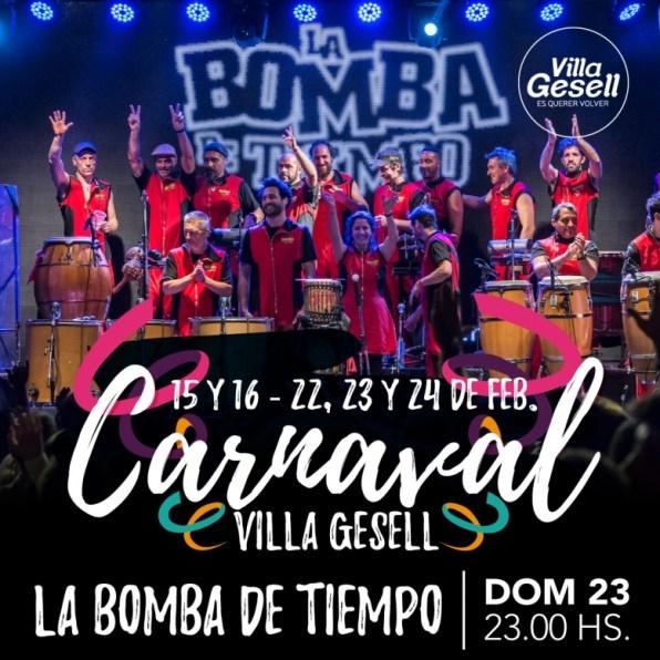 Carnaval Bomba de tiempo