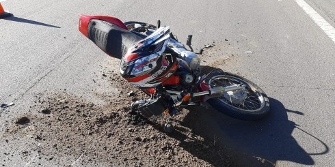 Ruta 11 incidente vial zona Carilo 28-jun-2020