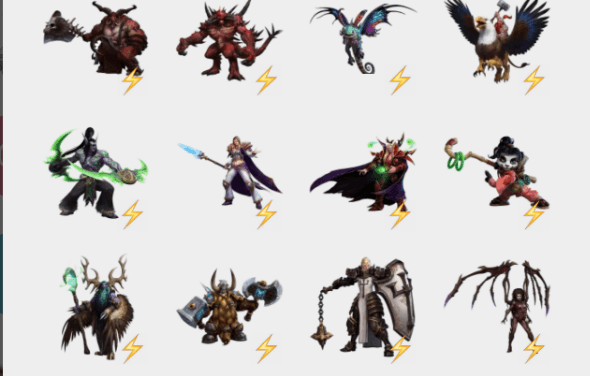 Heroes of the storm sticker pack