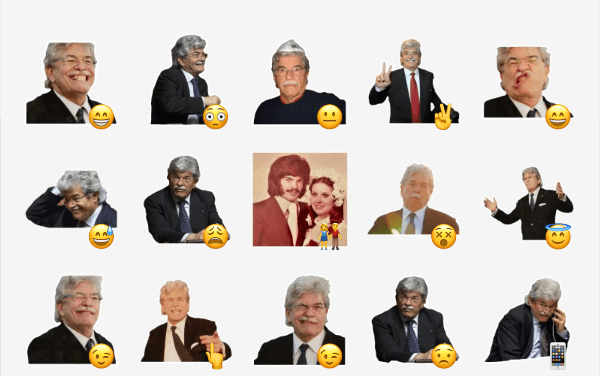 Antonio Razzi sticker pack