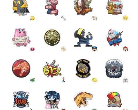 Counter Strike stickers sticker pack