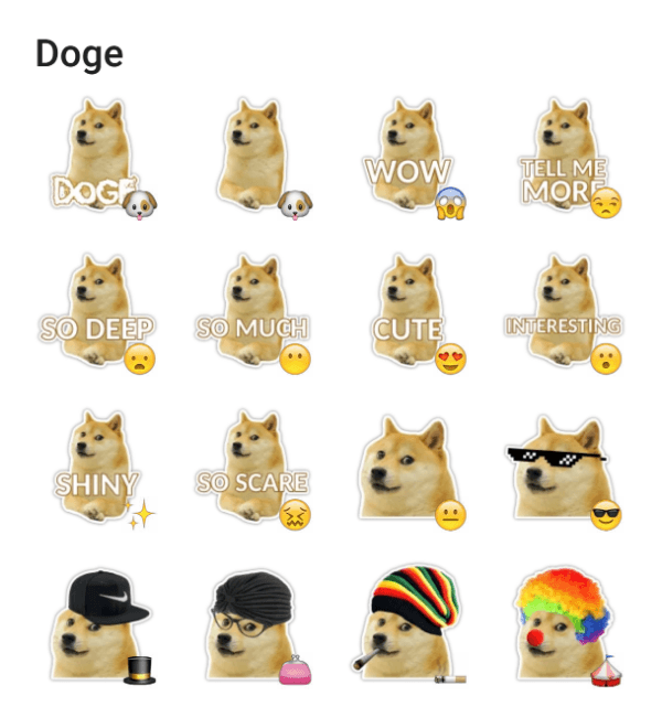 doge-the-dog-sticker-pack