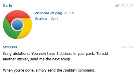 Sticker Bot Commands