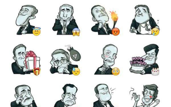 U.S. Presidents Sticker Pack