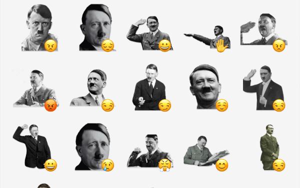 Adolf Hitler Sticker Pack