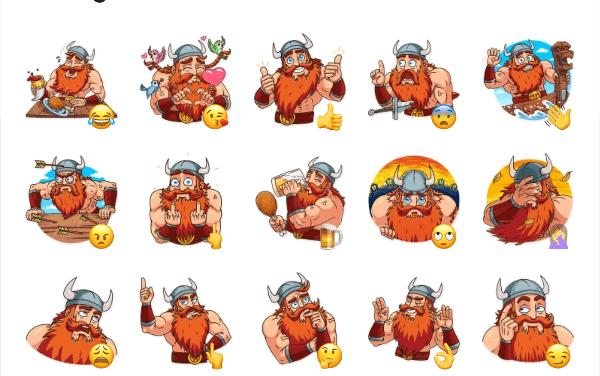 Viking Sticker Pack