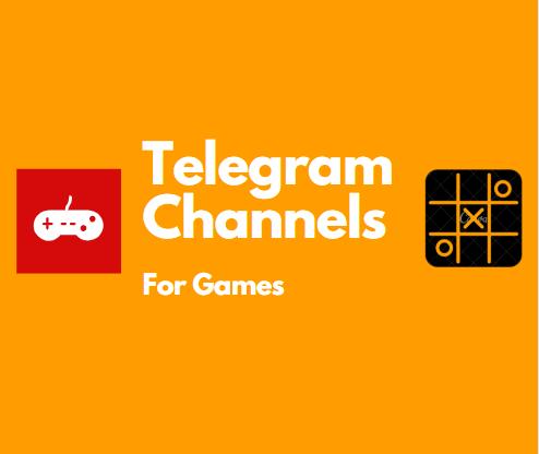 Telegram Channel for games