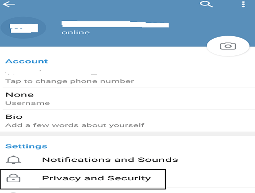 How to block someone on Telegram 4
