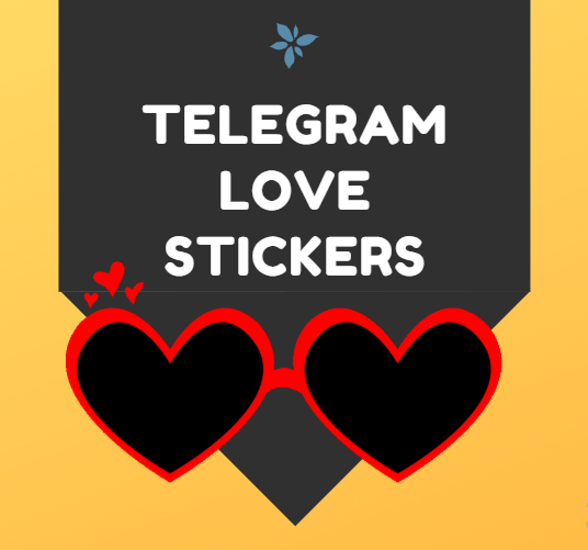 Telegram Love Stickers Collection | 15+ Stickers Pack