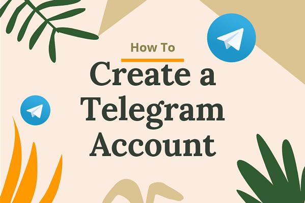 how to create a telegram account