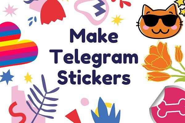 make telegram stickers free
