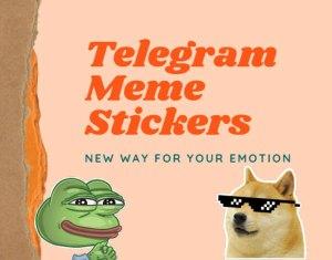 Telegram Meme Stickers Download [Dank, Pepe, Spongebob & More]