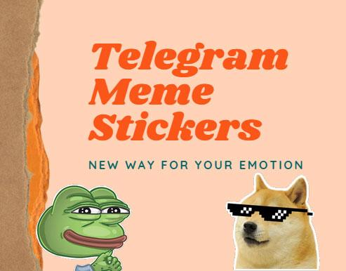 telegram meme stickers pack