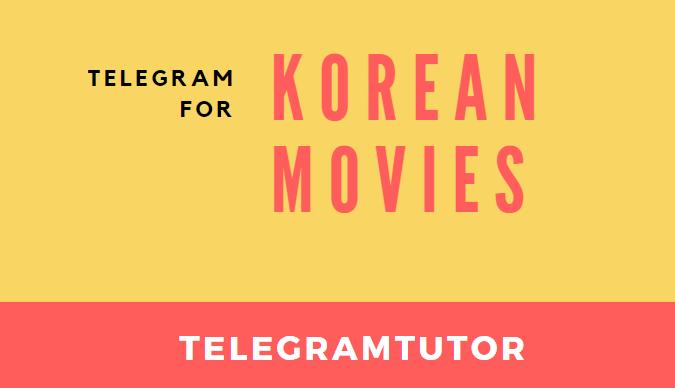 Telegram Channel for Korean Movies 1