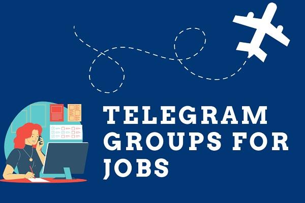 telegram groups for jobs