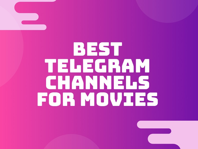 best telegram channels for movies web series