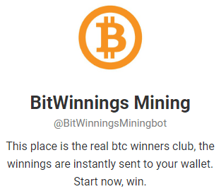 BitWinnings-telegram-Bitcoin-Mining-Bot