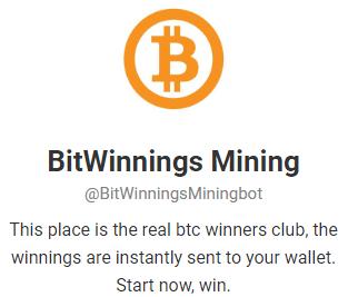 BitWinnings-telegram-Bitcoin-Mining-Bot