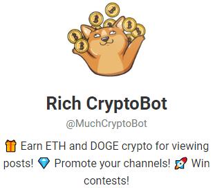 Rich-CryptoBot-Telegram-Cryptobot