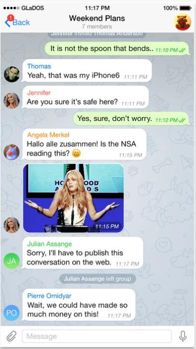 Почему телеграмм занимает много места на айфоне