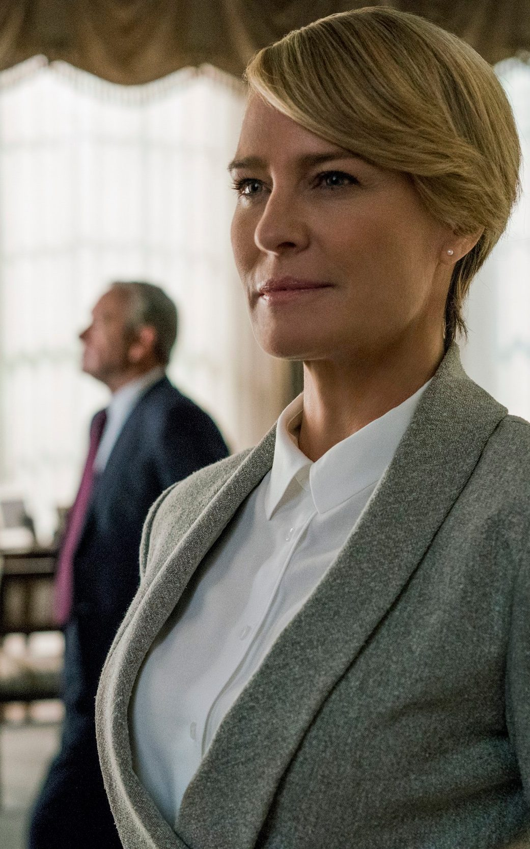 Claire Underwood Hair : claire, underwood, Sexy,, Never, Revealing':, House, Cards', Costume, Designer, Claire, Underwood's