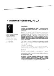 CV-ul lui ȘCHENDRA Constantin