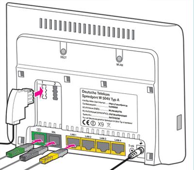 SPEEDPORT W504V BEDIENUNGSANLEITUNG PDF