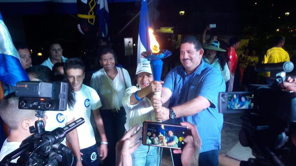 Antorcha de la libertad llegó a Estelí