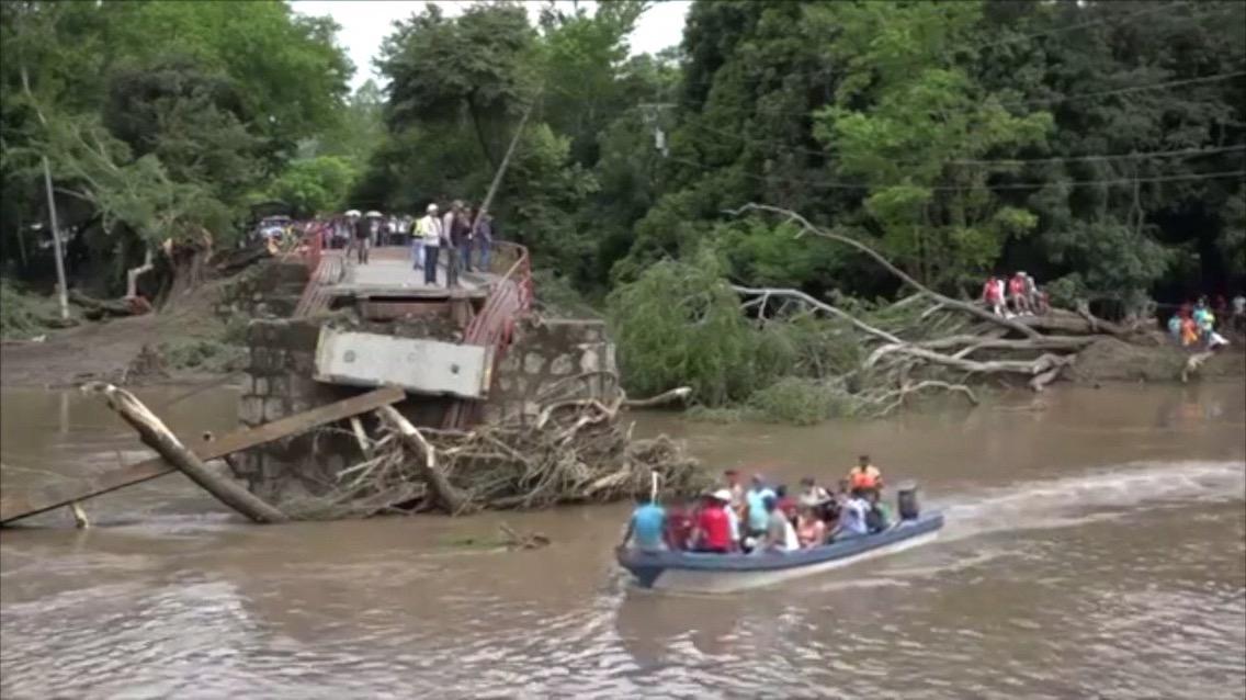 Al menos siete muertos y tres desaparecidos por lluvias en Nicaragua.