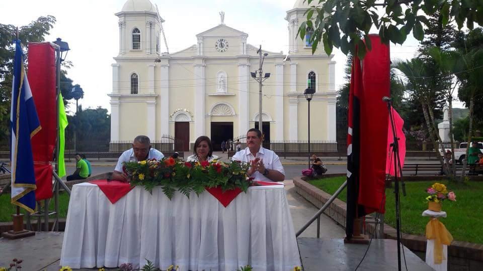 Celebran 126 aniversario de Estelí.