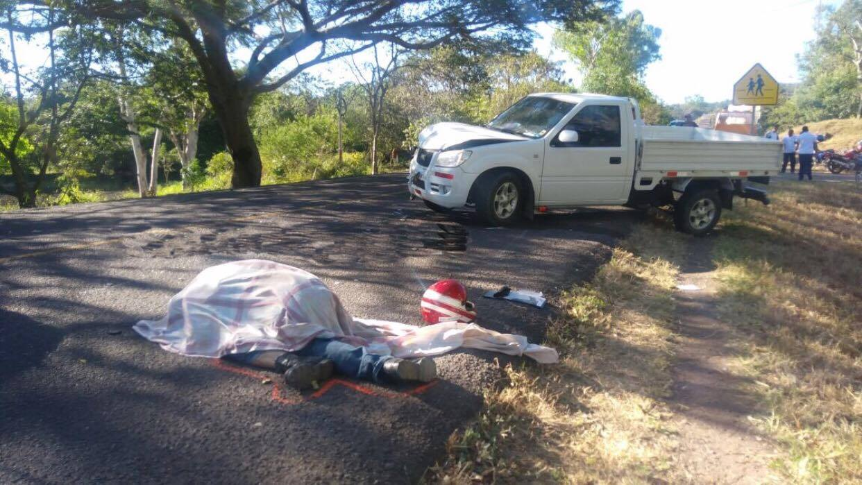 Motociclista muere en accidente de tránsito en Estelí.
