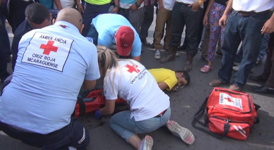 Poblador de Condega muere después de ser arrollado por furgón en Estelí.