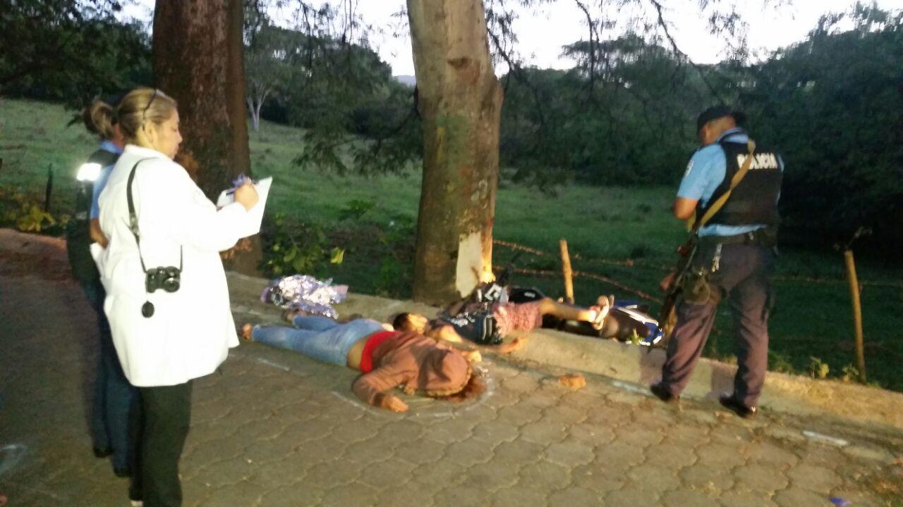 Motociclistas mueren en accidente de tránsito en Estelí.