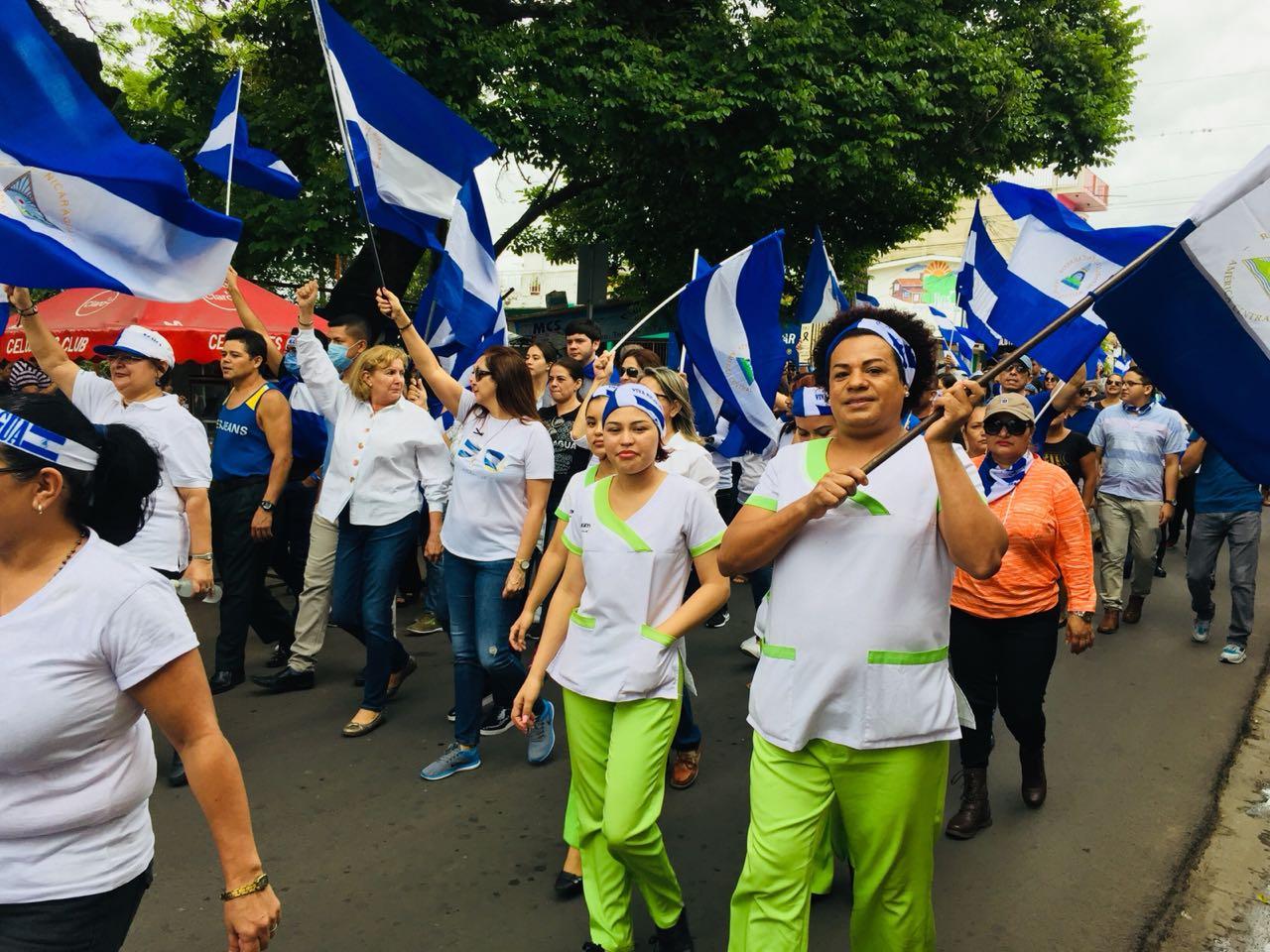 Estilista de Estelí denuncia amenazas tras partipar en marcha.