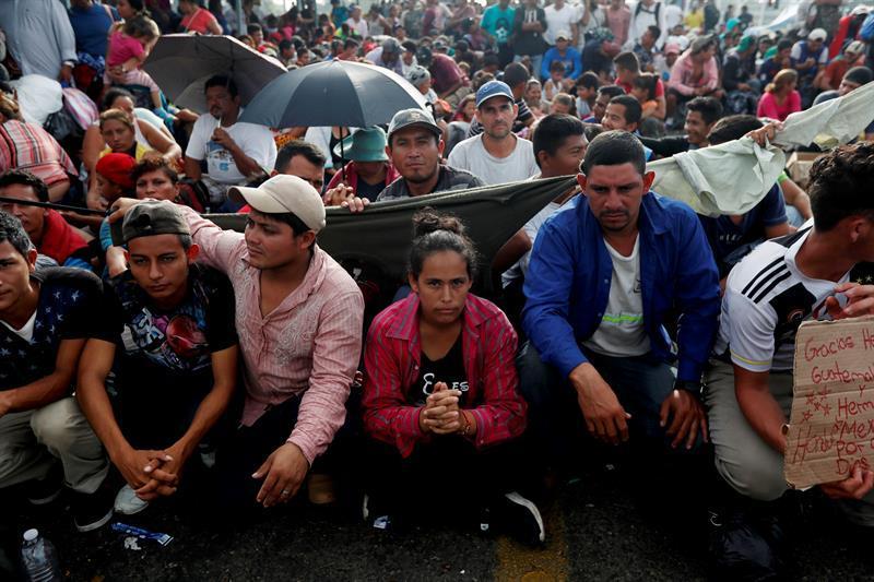 Más de 2,000 hondureños regresan a su país tras intento fallido de llegar a EEUU