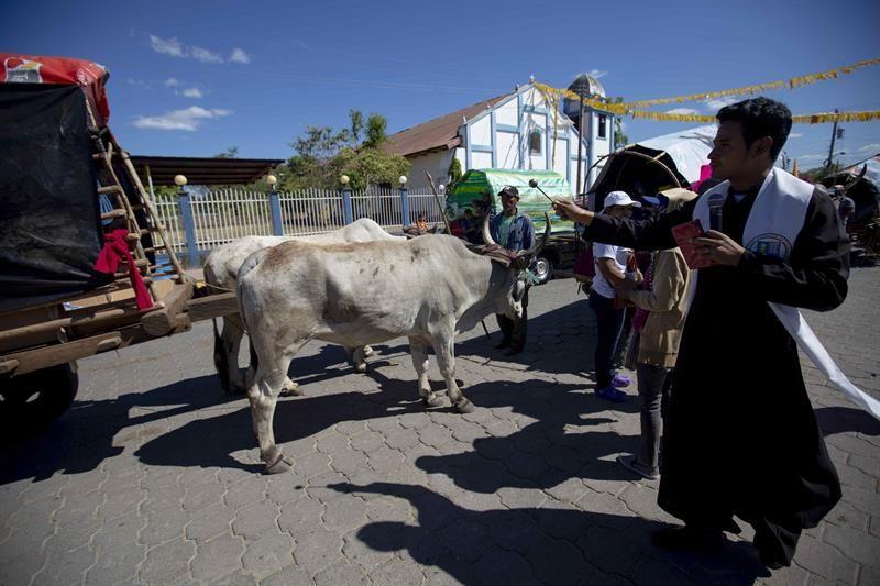 La romería por el Cristo Negro, una tradición de más de 100 años en Nicaragua