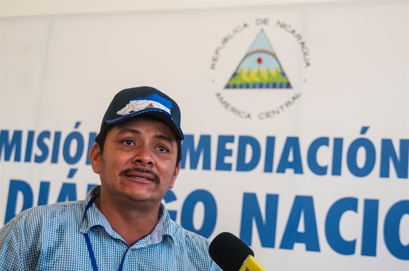Juez de Nicaragua condena a 216 años de cárcel a Medardo Mairena.