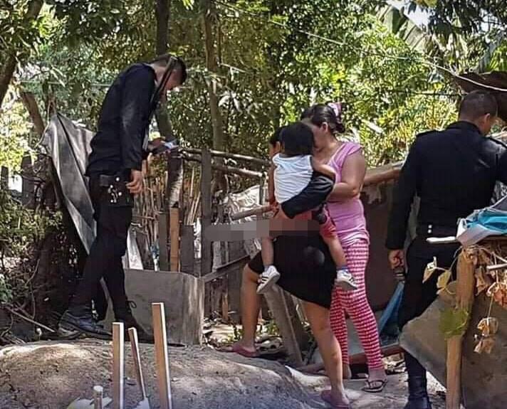 Rescatan a bebé del fondo de una letrina en Ocotal