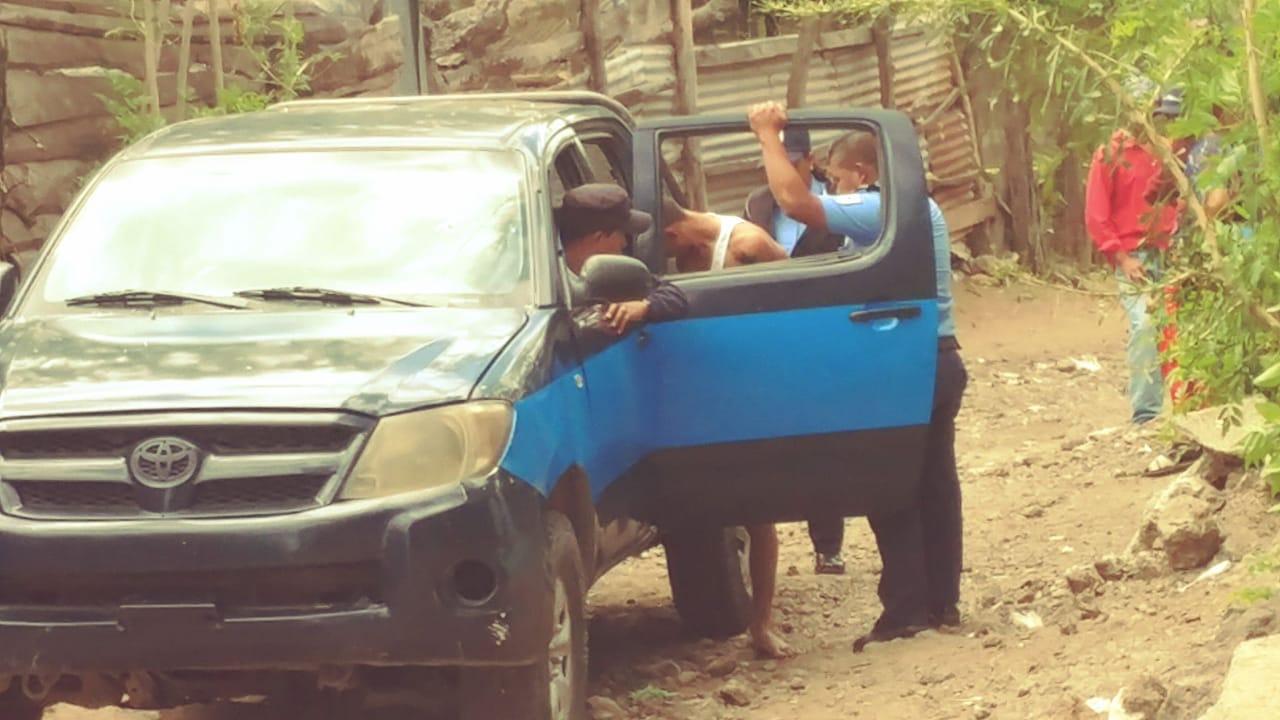Capturan al presunto autor de crimen en la comunidad La Sirena de Estelí