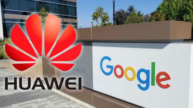 Google rompe con la empresa china Huawei tras el veto de Trump