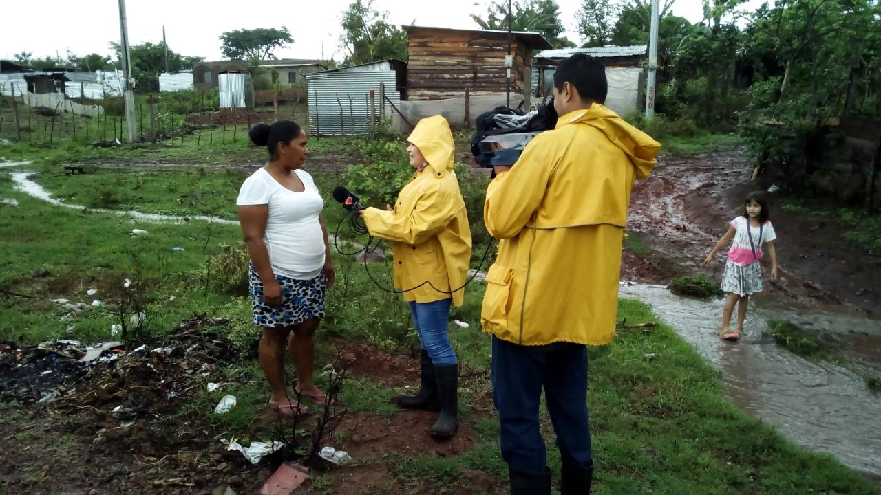 LLuvias generan afectaciones en calles del barrio Santa Rita de Estelí