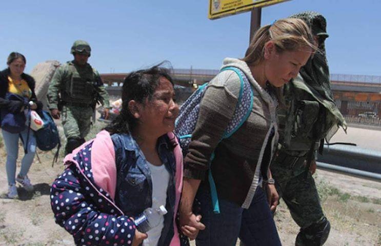 Familia originaria de Santa Cruz Estelí fueron capturadas en Ciudad Juárez