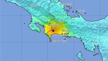 Sismo de magnitud 6,7 se registró en zona fronteriza entre Costa Rica y Panamá