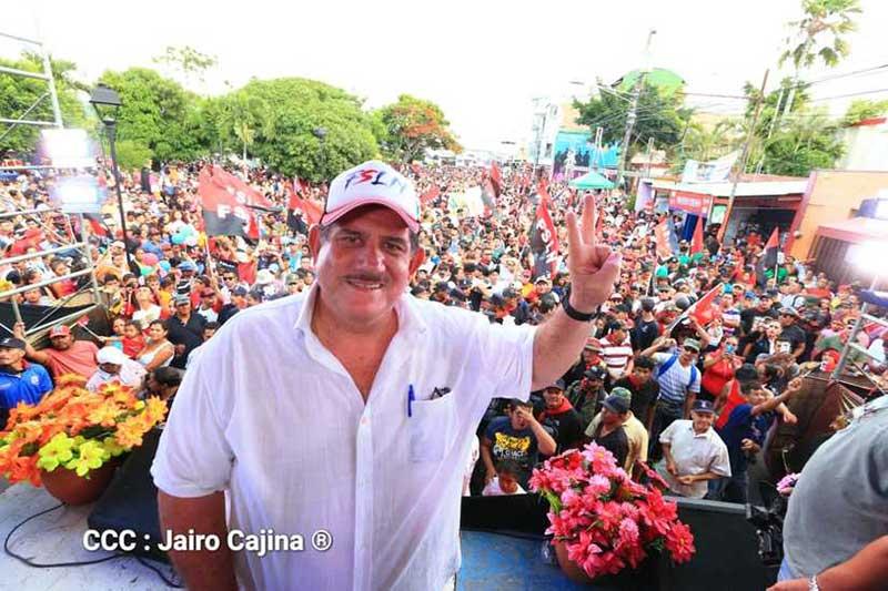 Estelí celebró los 40 años de su liberación
