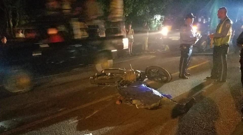 Cuatro personas fallecidas en accidentes de tránsito.