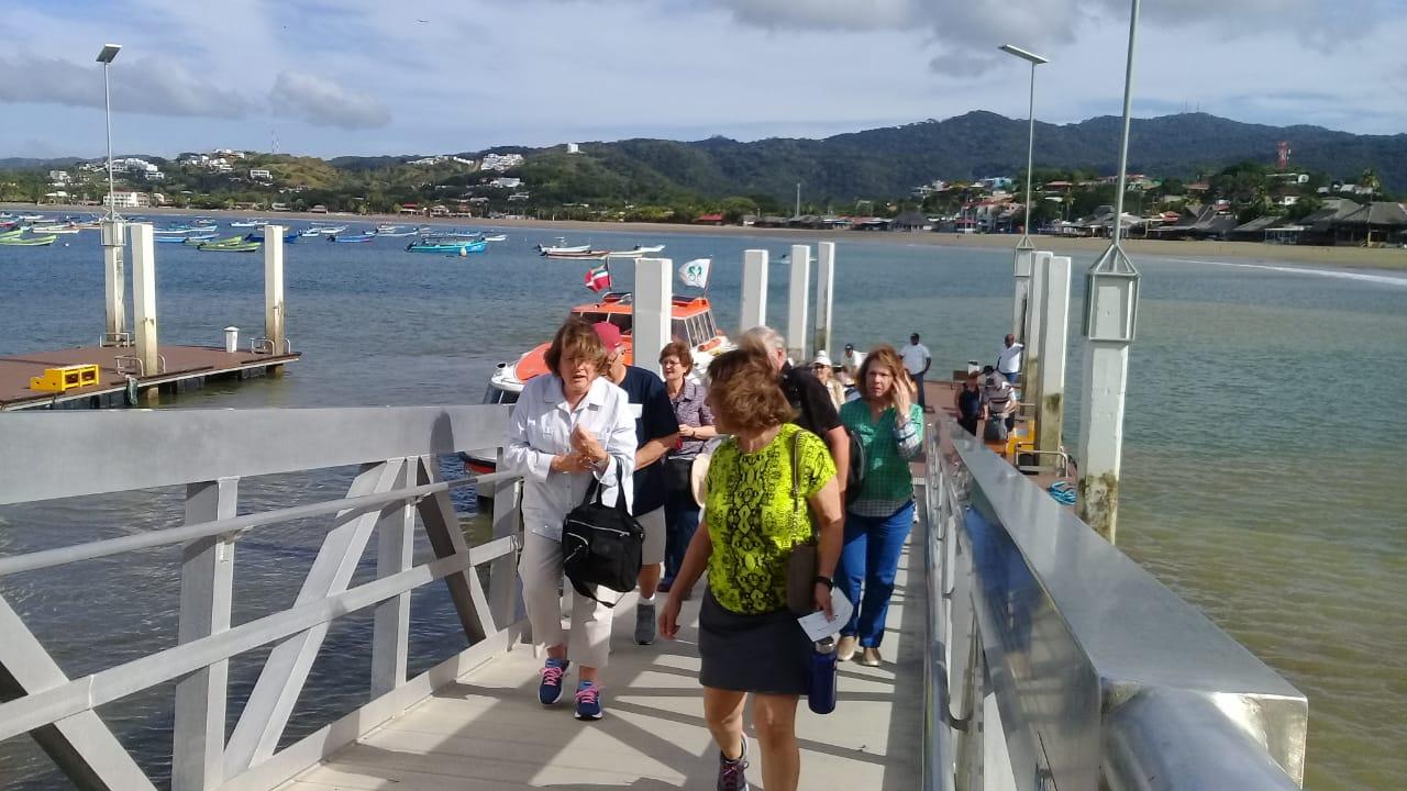 Cruceristas de diversas nacionalidades arriban a Nicaragua